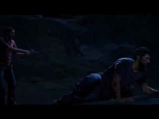 Смерть Сары в игре- The Last of
