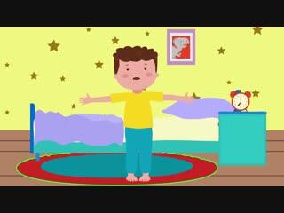 ЗАРЯДКА - Развивающая песенка мультик для детей