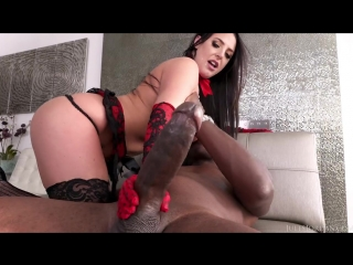 Julesjordan - Angela White Sets A Booby Trap For Mandingo That Ends In Her Ass!