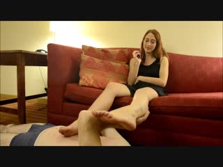 Pedestal Thank Mistresss Feet ffbbpart4 Luna Lain femdom mistress