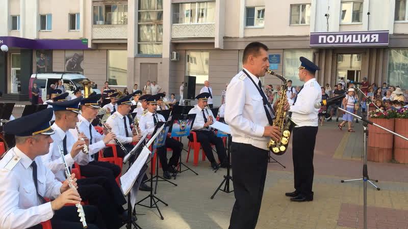 Военный оркестр Академии ФСО России. 5 августа 2020 г. Ва-банк.