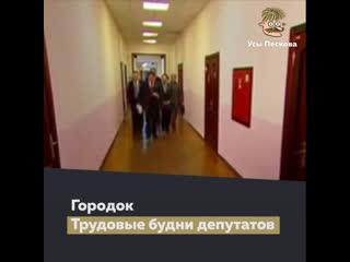 Городок о депутатах