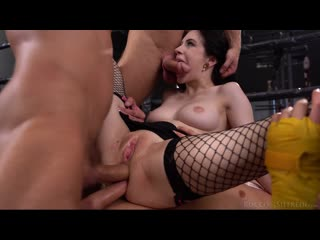 Anna De Ville - Rocco'S Fitness Sluts: DP Edition [2020 GangBang,DP,DAP,Anal,Hardcore,Big Tits,Deepthroat,Group Sex,Blowjob]