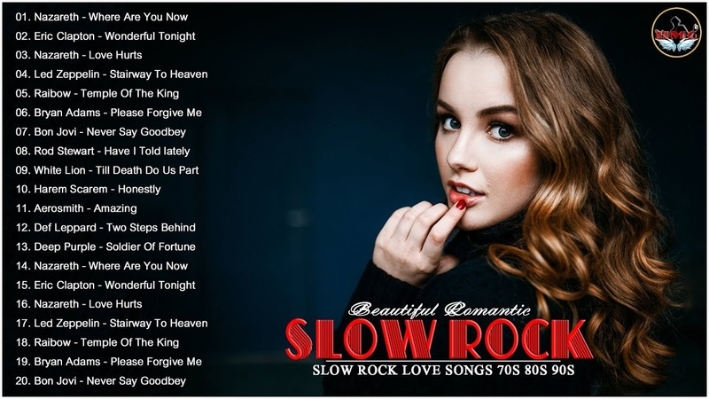 Slow Rock Love Songs 80s 90s 😍💖 Nazareth Eric Clapton Bryan Adams Scorpions 😍💖