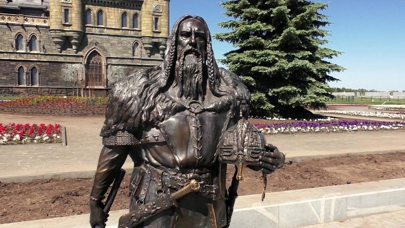 Замок Гарибальди в России с Хрящевка