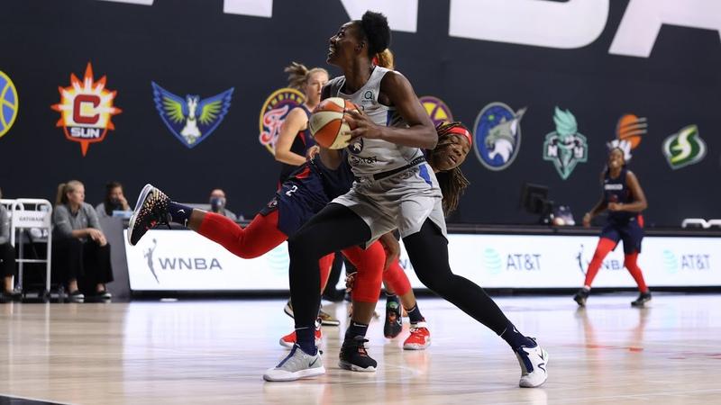 Sylvia Fowles Registers 16 Points 13 Rebounds As Lynx Defeat Mystics August 11 2020