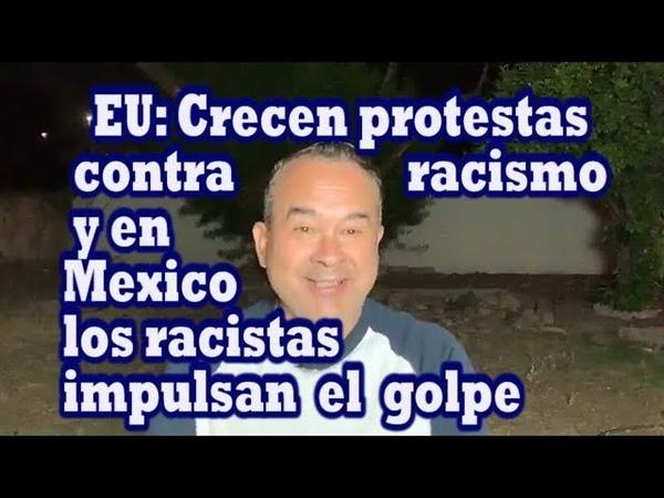 Estado de Emergencia en EU por protestas contra racismo Alertas tambien por racistas mexicanos con