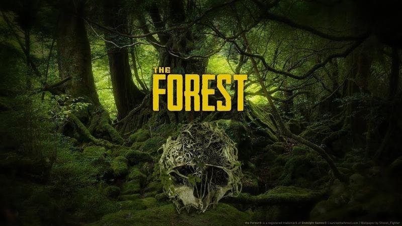THE FOREST►Строим вторую базу и лутаем пещеры (часть 6-я)
