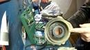 Замена подшипников муфты кондиционера и паразитного ролика KIA CERATO 2007г