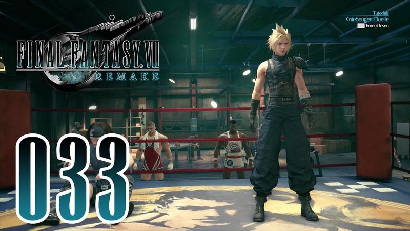 Final Fantasy 7 REMAKE Deutsch 033 Kniebeugen Duelle