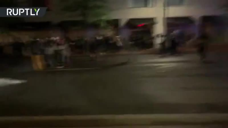 Протесты в Портланде