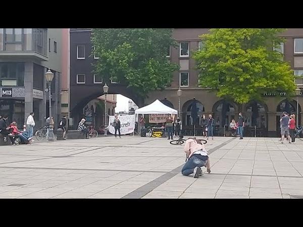 Koblenz jusos Kapern Anti Lockdown Demo