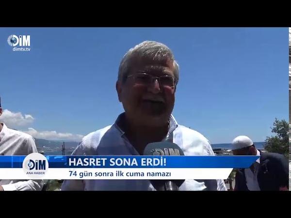 HASRET SONA ERDİ 74 gün sonra ilk cuma namazı HABERLER