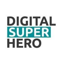 Логотип DIGITAL SUPERHERO. Онлайн - хакатон!