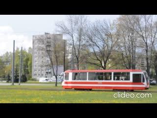 Санкт-Петербург.Трамвай 71-631 УКВЗ, 71-931,71-931М.