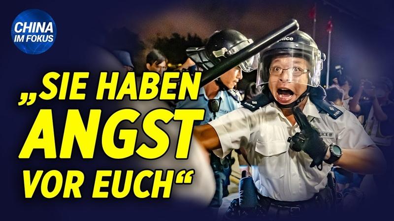 Massenverhaftungen in Hongkong Proteste in Berlin Wissenschaftler nennt Demokratie böse Sekte