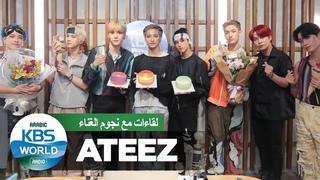 STAR Interview- ATEEZ,  أيتيز 대세돌 에이티즈의 아랍 FEVER! 아랍 에이티니 THANXX:)