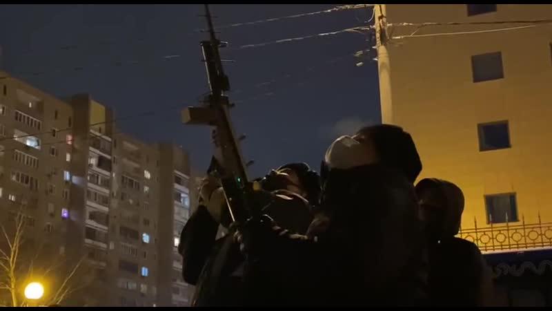 Блокираторы дронов у здания Мосгорсуда