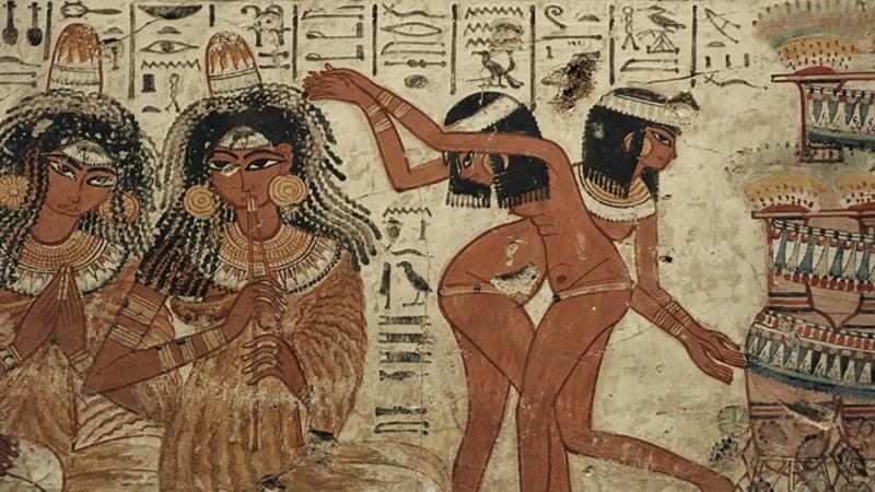 Сокровища Древнего Египта 2 Золотой век 2014 Алистер Сук док сериал история искусства BBC HD 720