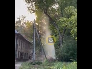 Фонтан из кипятка на улице Батумской. Наша подписч...