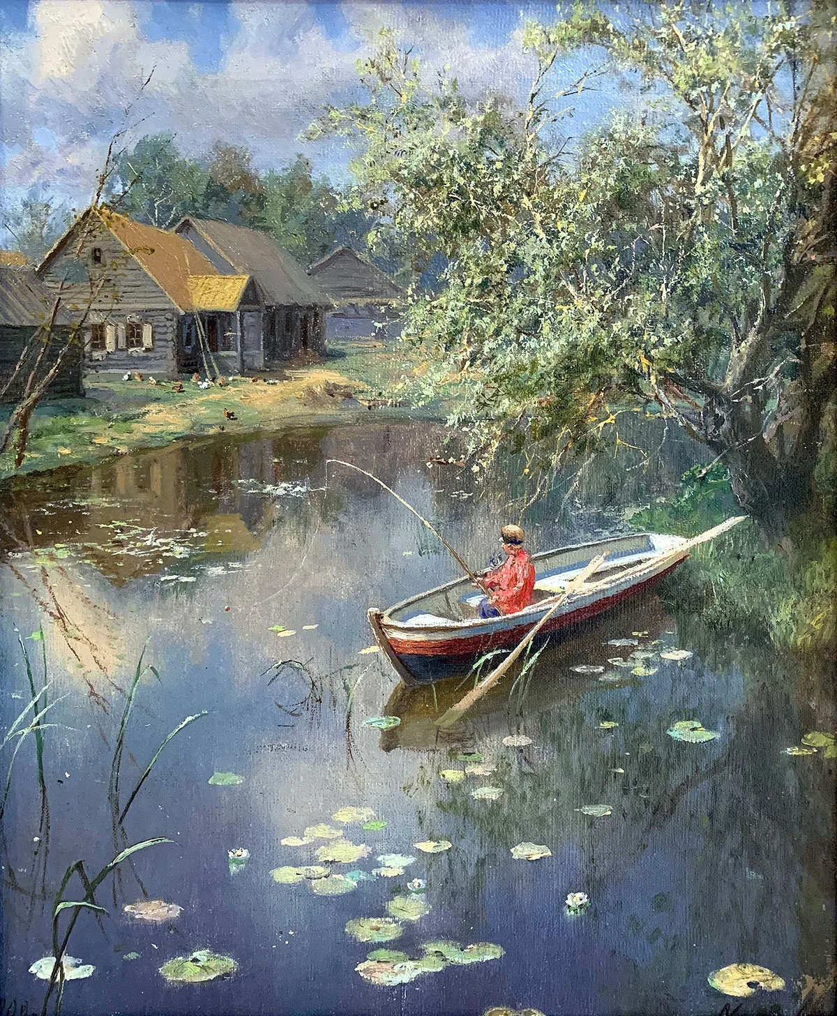 Алекса́ндр Алекса́ндрович Киселёв (1838—1911) — русский живописец-пейзажист, активный участник Товарищества передвижных художественных выставок, академик и действительный член Императорской академии художеств.