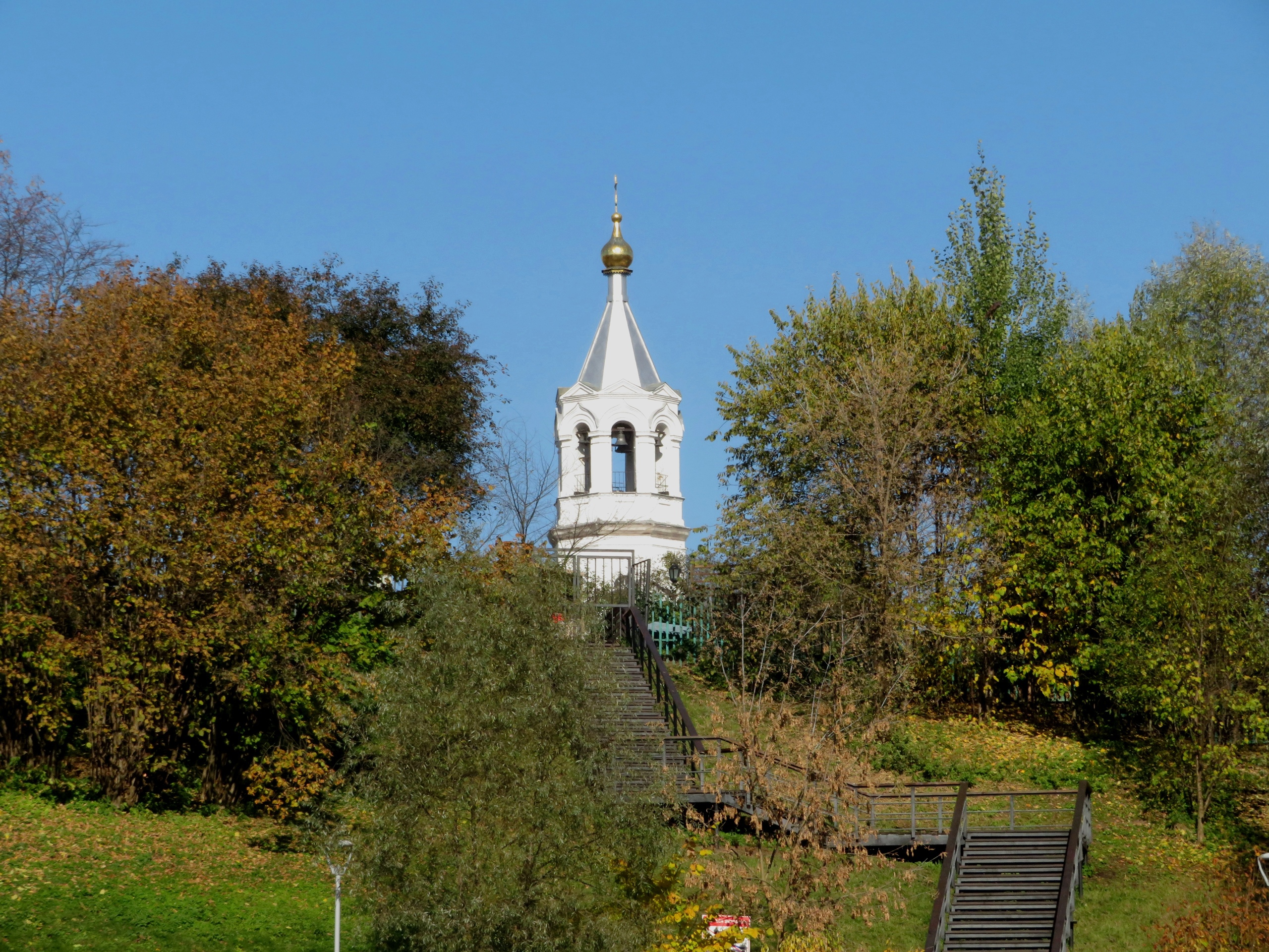 Деревянный Храм Рождества Христова был построен в 1637 — 1638 гг.