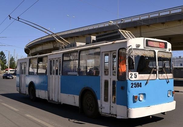 Движение троллейбуса №25 временно закроют в Нижне...