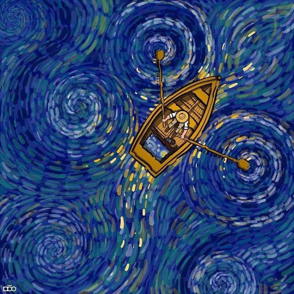 Творчество Алиреза Карими Могхаддам можно встретить в обзорах достаточно часто.