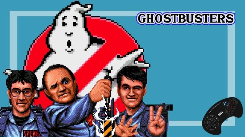 Охотники за приведениями Ghostbusters прохождение Игра SEGA Genesis Mega Drive Стрим RUS