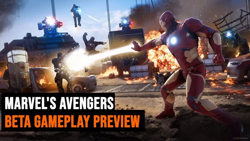 Marvels Avengers BETA gameplay preview