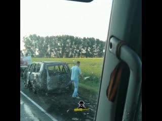 Жесткое ДТП на бийской трассе (Инцидент Барнаул)