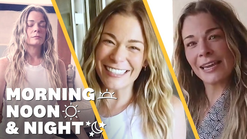 LeAnn Rimes' Daily Routine Meditation and Candle Making Morning Noon Night Women's Health