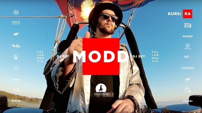 MODD – Hot Air Balloon Live Dj Set | KURS:RA @ Yelnya Bog, Belarus [Deep House, 2020]