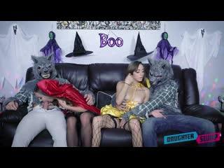 Bailey Base, Dani Blu - Halloween Switch Plan [All Sex, Hardcore, Blowjob, Gonzo]
