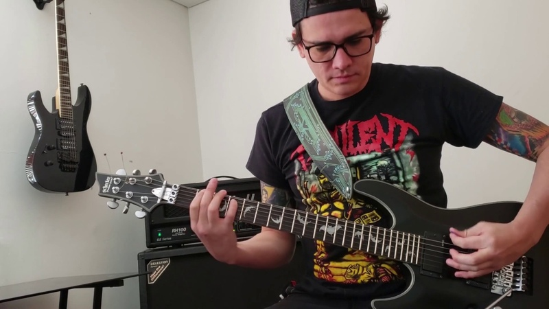 Sergio Ruiz Sadistic Mutilation Orgy Necrophile Guitar Playthrough