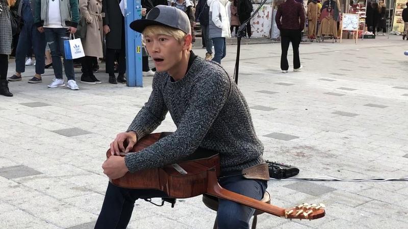 기타리스트 정선호 미션임파서블 홍대버스킹