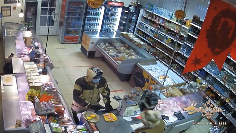 Грабитель нападал на магазины с муляжом пистолета