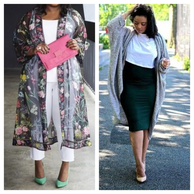 Особенности одежды для полных девушек