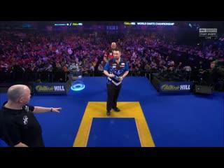 Luke Humphries vs Devon Petersen (PDC World Darts Championship 2020 / Round 1)