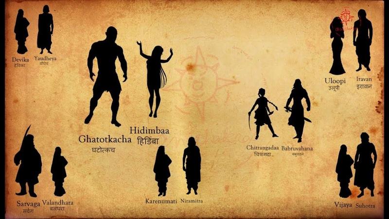 Pandava's family Wives and Children Mahabharata Facts