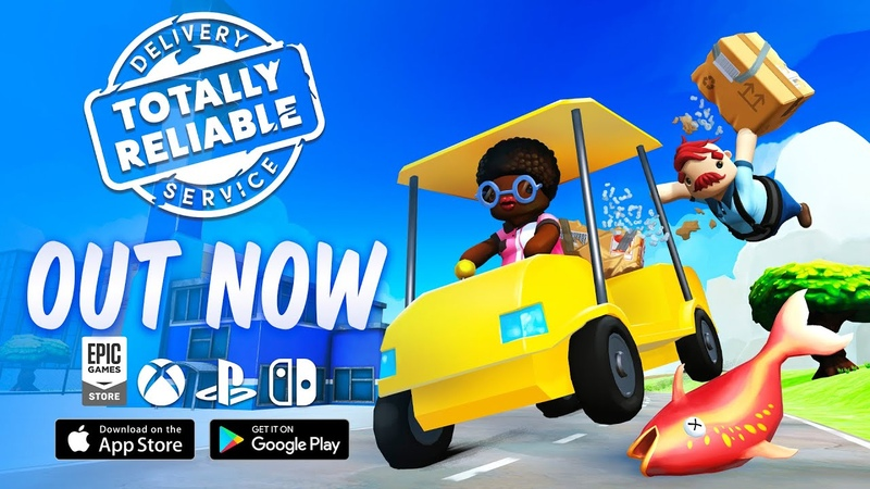 Totally Reliable Delivery Service Launch Trailer Xbox PC PS4 Switch iOS Android