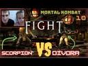 Обзор на видео игру Mortal Kombat Х🔥Играем с дочкой