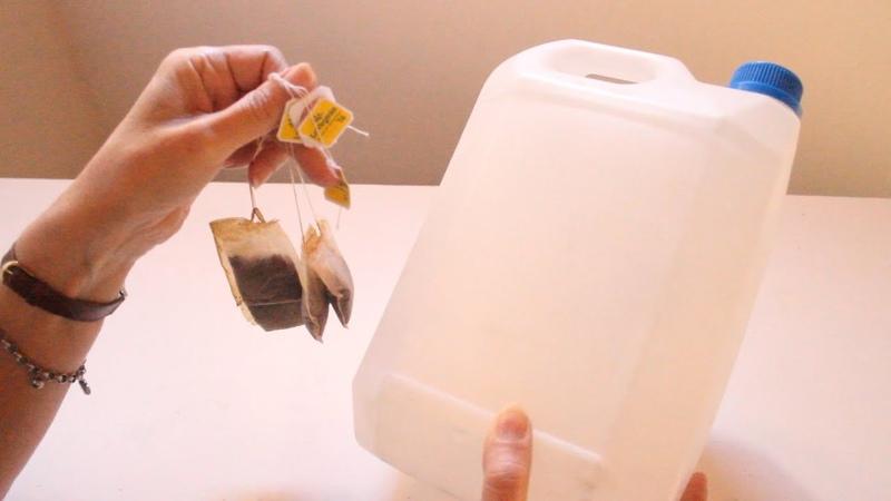 ♻ Reutiliza envases plásticos y saquitos de té🌼 Ideas con bidones 😘Manualidades fáciles💕Arte en casa