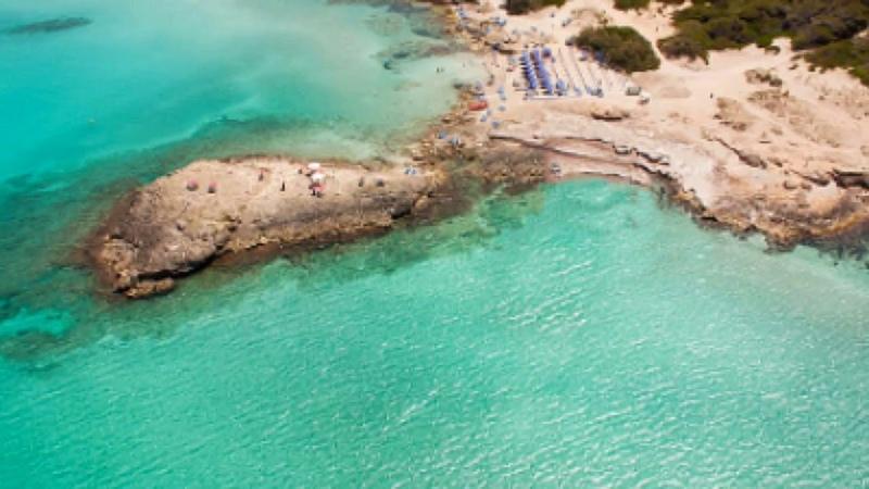 Salento le più belle spiagge Gallipoli Maldive del Salento e tante altre viste dal drone DJI MAVIC