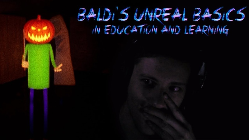 Хоррор Балди ► Baldi's Unreal Basics