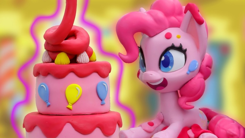 My Little Pony Stop Motion 🎂 Pat a Cake with Pinkie Pie | My Little Pony Cake