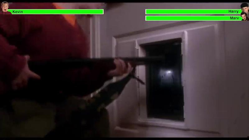 Home Alone (Kevin vs Harry Marv)