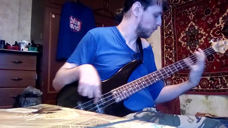 Ночь сон Басовая версия сыграл под минус из Guitar Pro 5