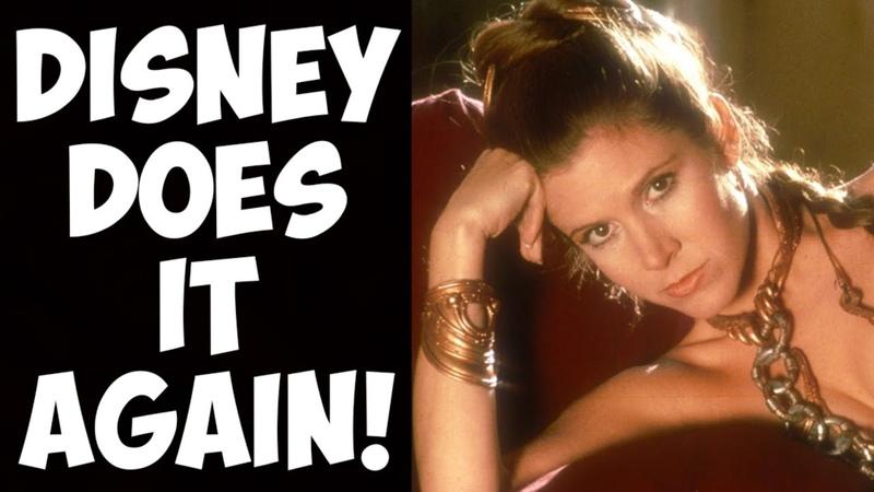 Princess Leia CENSORED?! Disney makes more Star Wars changes to please NPC puritans!
