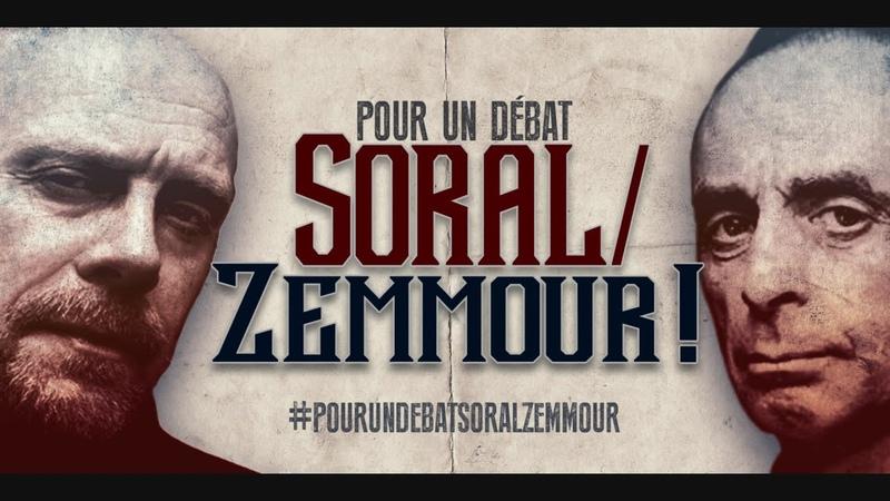 Pour un débat Soral Zemmour sans musique